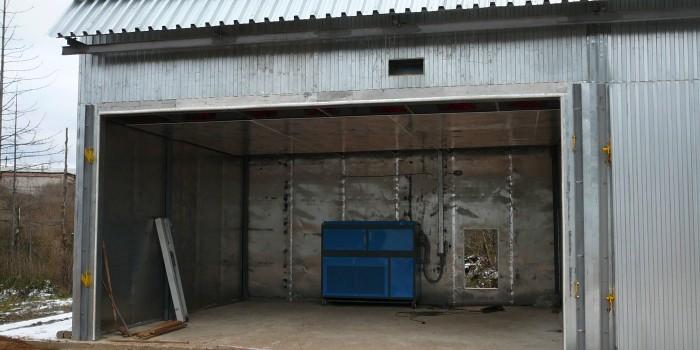 Конденсационные сушильные камеры для древесины.