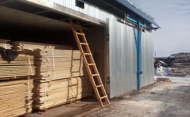 Сушильные камеры для древесины в Перми