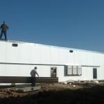 строительство, сушильной, камеры, древесины, монтаж